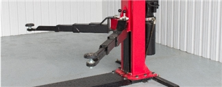 E4G A240TH 2 Post H frame Baseplate Lift