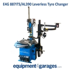 Leverless Tyre Changers