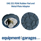 E4G 221 PEAK Rubber pad and Metal Plate Adaptor