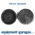E4G 112 Beissbarth 2 Post Rubber Lift Pads x2