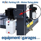E4G 40802 PEAK Motor fixing bracket for PEAK 4 Post Parking Lift