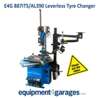 E4G 887ITS/390 Leverless Tyre Changer and Assister Helper Arm 1Phs