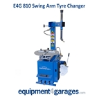 E4G 810 Semi Automatic Tyre Changer