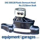 E4G 500128 Car Tyre Changer Demount Head-Plastic assembly