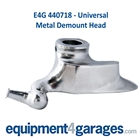 E4G 440718 Universal/Generic Tyre Changer Replacement Metal Demount Head