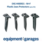 E4G 4400921 M+F Plastic Clamping Jaw Protectors with hinged rear section