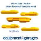 E4G 442138 Inserts for some Hunter Tyre Changer Demount Heads x5