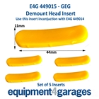 E4G 449015 Insert for some GEG Demount Heads x5