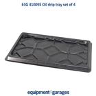 E4G 410095 Oil Drip Trays Set of 4 for E4G440-P