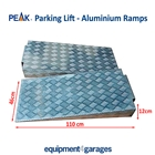 E4G 40803 PEAK Aluminium Drive-Up Ramps for PEAK 4 Post Parking Lifts