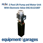 E4G 81121007 4 Post Lift Pump with 3PH Motor Replacement Unit - Spare Part