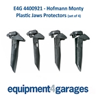 E4G 4400921 Hofmann Monty Plastic Clamping Jaw Protectors with hinged rear section