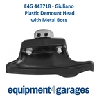 E4G 443718 Giuliano Tyre Changer Replacement Demount Head