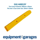 E4G 440019Y Yellow Plastic Tyre Lever / Crowbar Protector