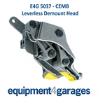 E4G 5037 CEMB Leverless Tyre Changer Demount / Duck Head - Metal with Inserts