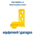 E4G 449016 Hook Cushions for Demount Heads x 5