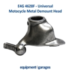 E4G 4628F Demount / Duck Head Metal + Inserts for Motorcycle Wheels - 28mm Tyre Changer Shaft