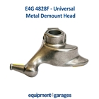 E4G 4828F Demount/Duck Head Metal with Plastic Inserts-27/28mm Tyre Changer Shaft E4G 4828R