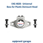 E4G 4828 Tyre Changer Replacement Metal Boss only - fits E4G Demount Heads