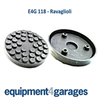 E4G 118 Ravaglioli 2 Post Rubber Lift Pads x2