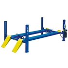 E4G 414 PEAK 4 Post Lift 6.5 Ton Capacity With 5500mm Platforms 1ph/3ph