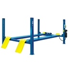 E4G 412 PEAK 4 Post Lift 5.5 Ton Capacity With 5100mm Platforms. 1ph/3ph