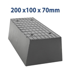 E4G 164 Universal Scissor Lift Rubber Blocks x2