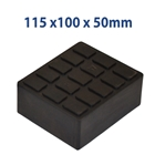 E4G 279 Rubber Blocks For Car Scissor Lift & Jacking Beam x2