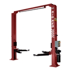 E4G A240DE 'THE BIG RED' 2 Post Baseless Lift 4T with Electric Locks 1ph