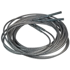 E4G 98720 2 Post Lift Cables for Chinese Hydraulic Lift 9*8720mm Set of 2