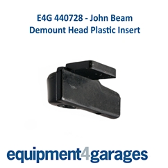 E4G 440728 Plastic Push-On Insert only-for John Bean Tyre Changer Demount Head x 5 sets
