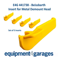 E4G 441738 Insert for some Beissbarth Tyre Changer Demount Heads - Set of 5