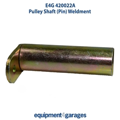 E4G 420022A Pulley Shaft (Pin) Weldment