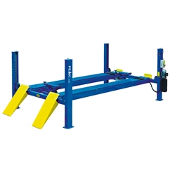E4G 412A PEAK Wheel Alignment 4 Post Lift 5.5 Ton With 5100mm Platforms 1ph/3ph