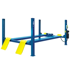 E4G 409 PEAK 4 Post Lift 4 Ton Capacity With 4600mm Platforms 1ph/3ph
