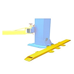 E4G 20801 PEAK Base Plate Extensions for 3.5T, 4.0T and 4.5 Ton Peak Lifts