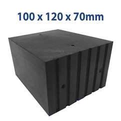 E4G 223 Universal Scissor Lift Rubber Blocks x2