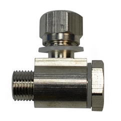 E4G CR333 Tyre Changer Air Cylinder Single Banjo Joint for E4G 806