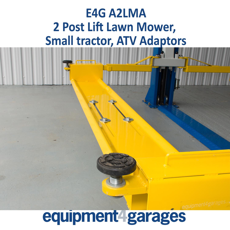 2 Post Lift Lawn Mower Adaptor 2 Post Ramp Atv Adaptor