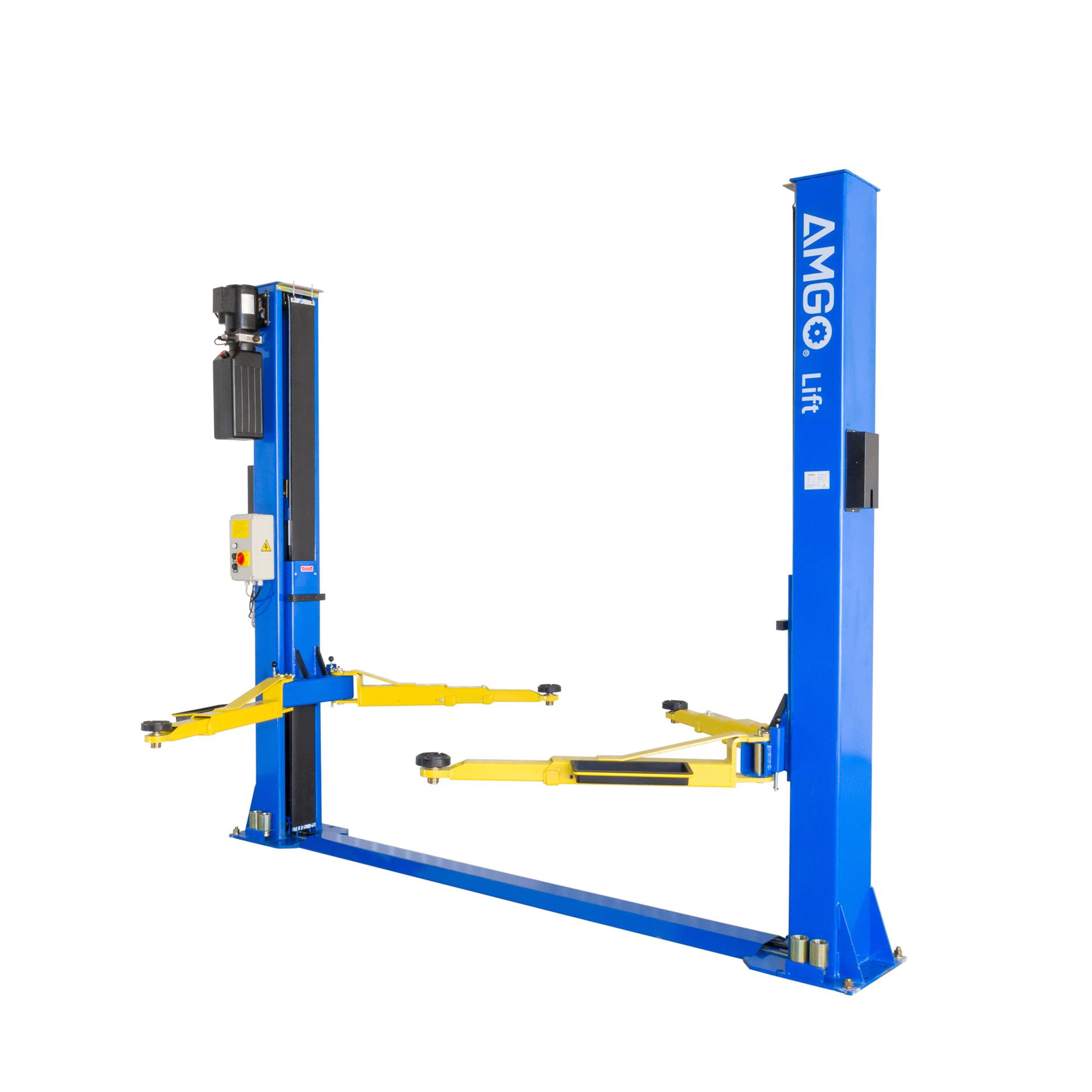 Tractor Lift Arm Extension : Peak amgo hi spec post baseplate lift garage ramp e g a