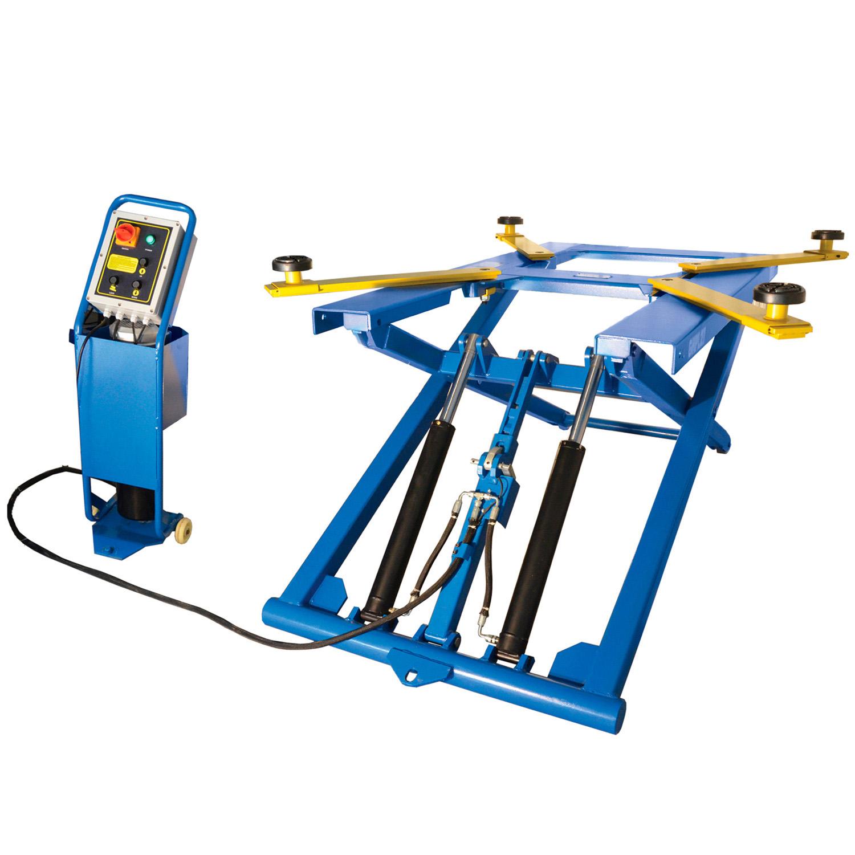 Mid Rise Portable Scissor Lift Garage Equipment