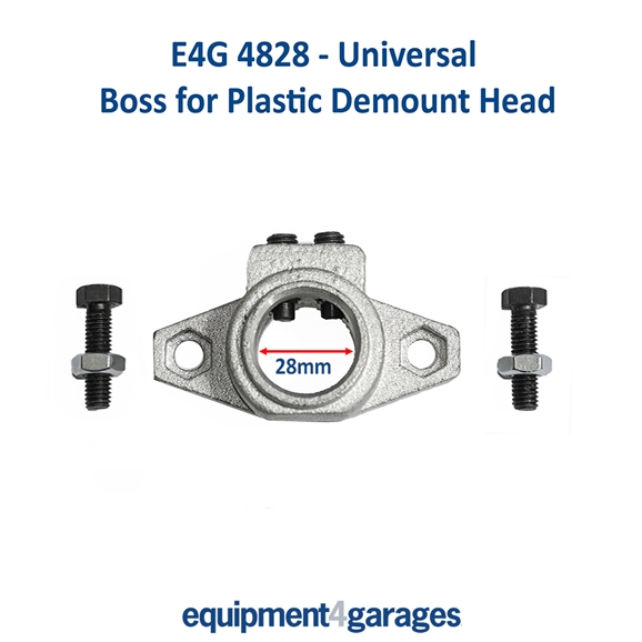 E4G 4828 Boss for plastic demount head 28mm